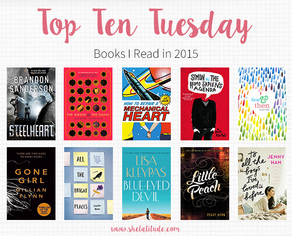 Top Ten Tuesday - Best Books of 2015