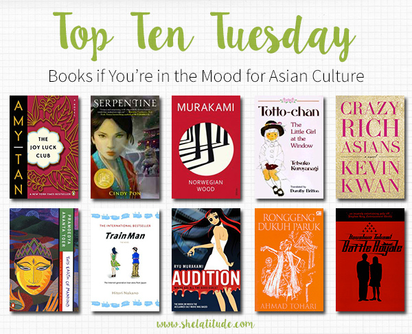Criticism Is Not In The Play Book When You Re Too: Top Ten Books To Read If You're In The Mood For Asian