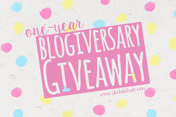 One-Year-Blogiversary-Giveaway-She-Latitude