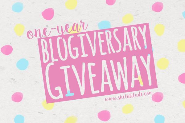 One-Year-Blogiversary-Giveaway-She-Latitude