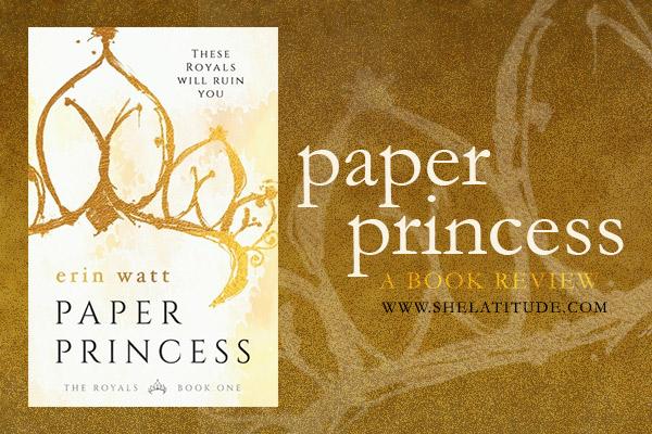 Book Review Paper Princess Erin Watt She Latitude Paper Princess