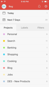 Todoist-Screen